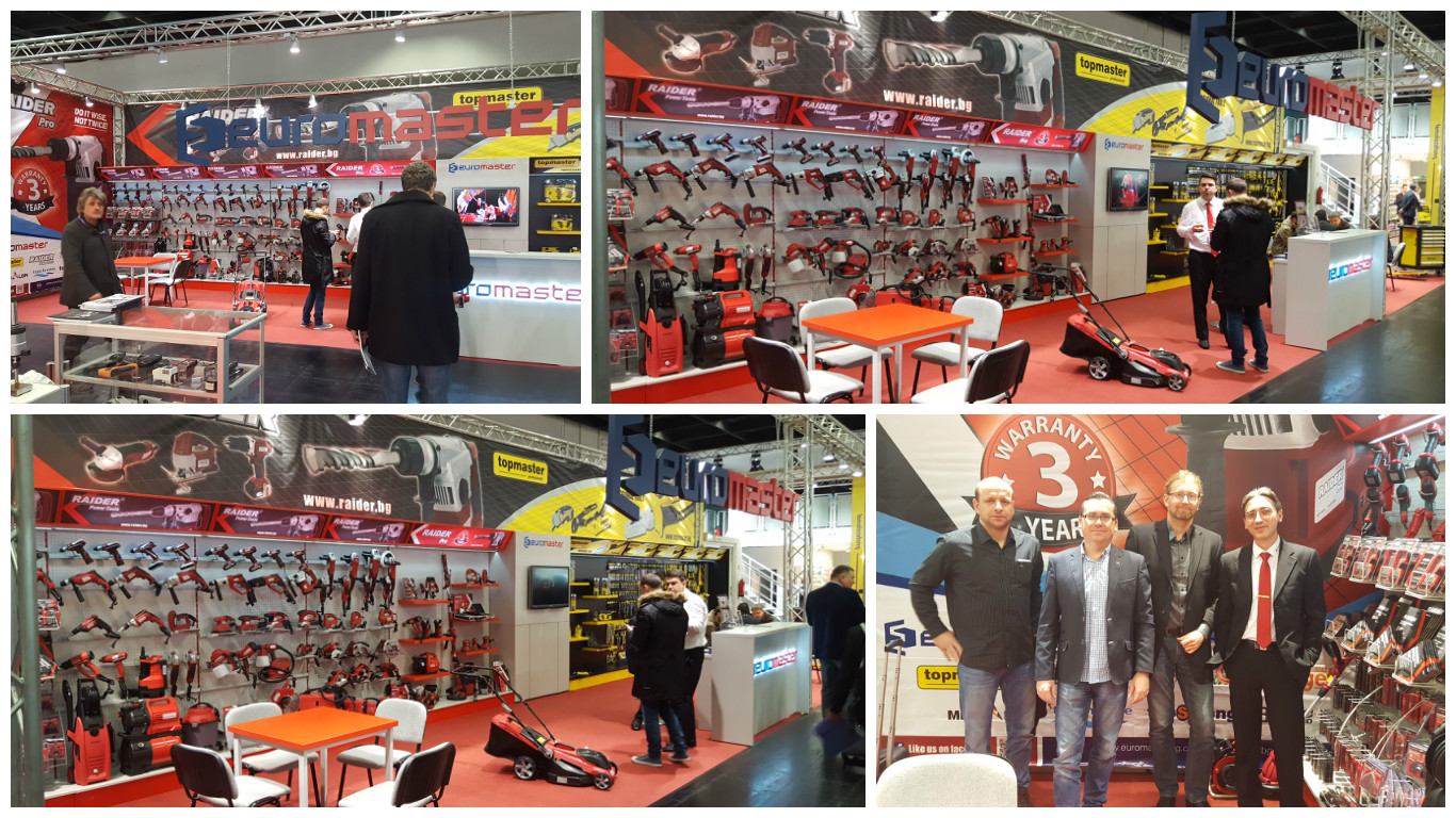 "Successful participation of Euromaster in the international trade fair for tools, machinery and equipment - ""Eisenwarenmesse - International Hardware Fair."